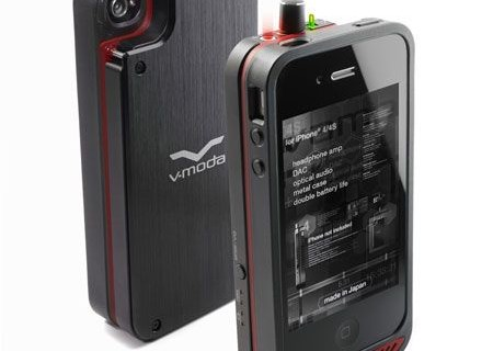 V-MODA VAMP — внешний ЦАП, усилитель для наушников и аккумулятор для iPhone 4/4S