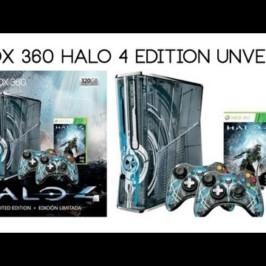 Ограниченный выпуск консоли Xbox 360 Limited Edition «Halo 4»
