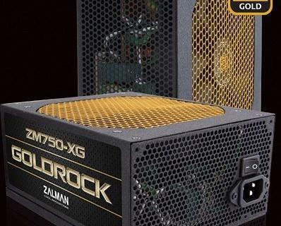 Zalman GoldRock: блоки питания с сертификацией 80 Plus Gold