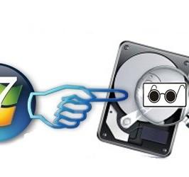 Как разбить жесткий диск для Windows 7