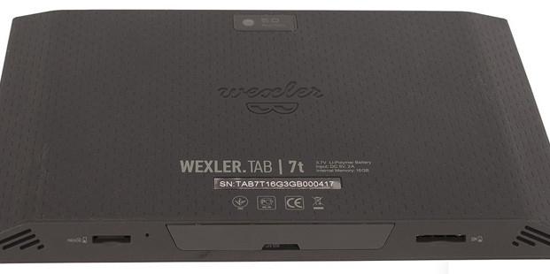 Достойный планшет WEXLER.TAB 7t за приемлемую цену
