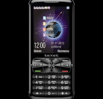 Мобильный телефон teXet TM-420 работающий одновременно с 4 SIM-картами