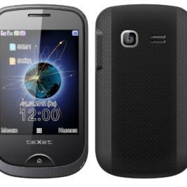 teXet TM-605TV — телефон с телевизором